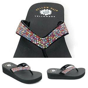 Yellowbox Rhinestone Sandals